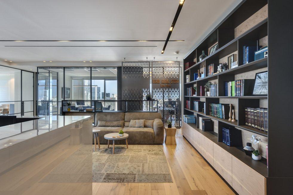 משרדי בנאי עזריאלי שטרן מיקום תל אביב